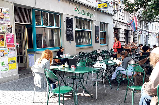 Elitär und versnobt: Café Zähringer