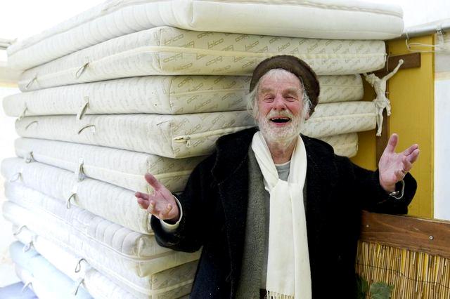 Pfarrer Sieber: Ein Leben lang offene Arme für Arme.