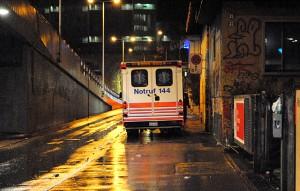 Allzeit bereit: Ambulanz bei den Clubs.