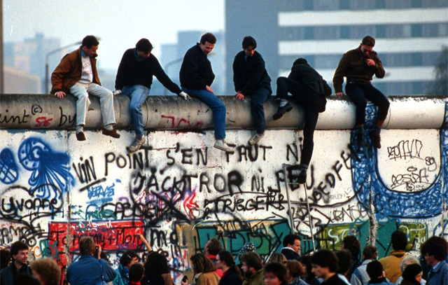 Abschottung als Erfolgskonzept: Die Berliner Mauer funzte lange für die DDR.