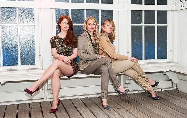 Die Ausnahme der Regel: Romana Bolzli, Sonja Huwiler und Elena Nierlich von der Olé Olé Bar. Bild:Katja Granzin/ katja-granzin.com