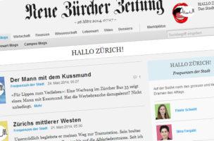 Das neue Schwesterchen: das NZZ-Stadtblog.