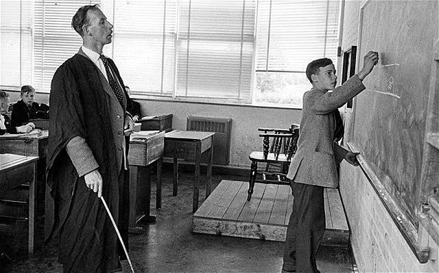 Früher hatten Pädagogen eine andere Stellung.
