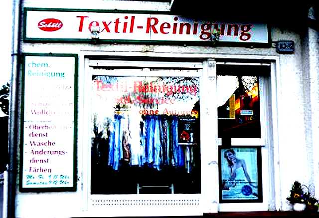 In Berlin an jeder Ecke: Textil-Reinigungen.