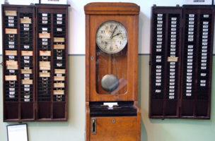 Der Wunsch hach Kontrolle: Die Stempeluhr