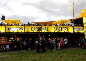 Das Festival wird von Getränkesponsoren gründlich von der Konkurrenz abgeschottet.