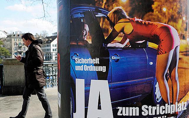 Grosse politische Bühne: Strichplatz