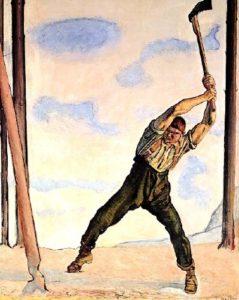 Gewann alleine die Schlacht von Marignano: Walther G. (Bild: F. Hodler)