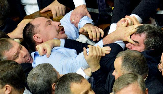 Im Parlament gibts keine K.o.-Siege.