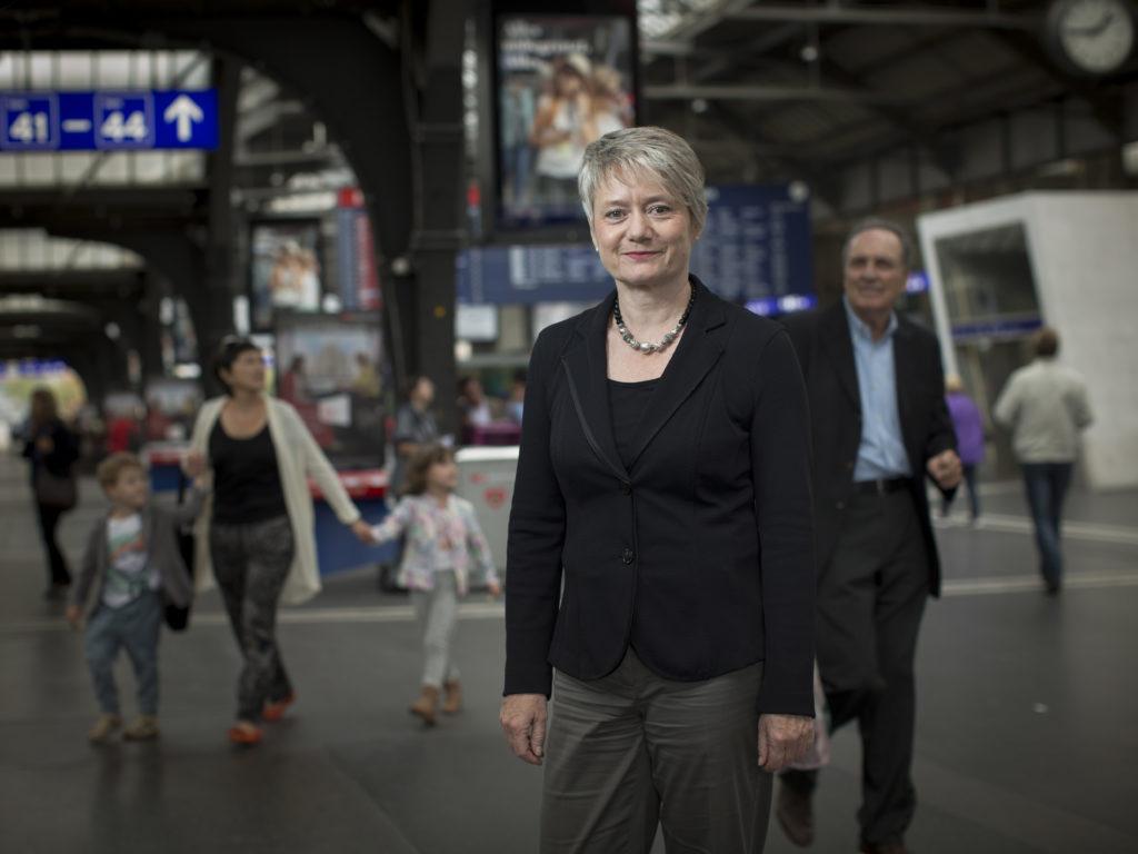 Bei SP-Regierungsrätin Jacqueline Fehr wurde vor einem Jahr Brustkrebs festgestellt. (Bild: Dominique Meienberg)