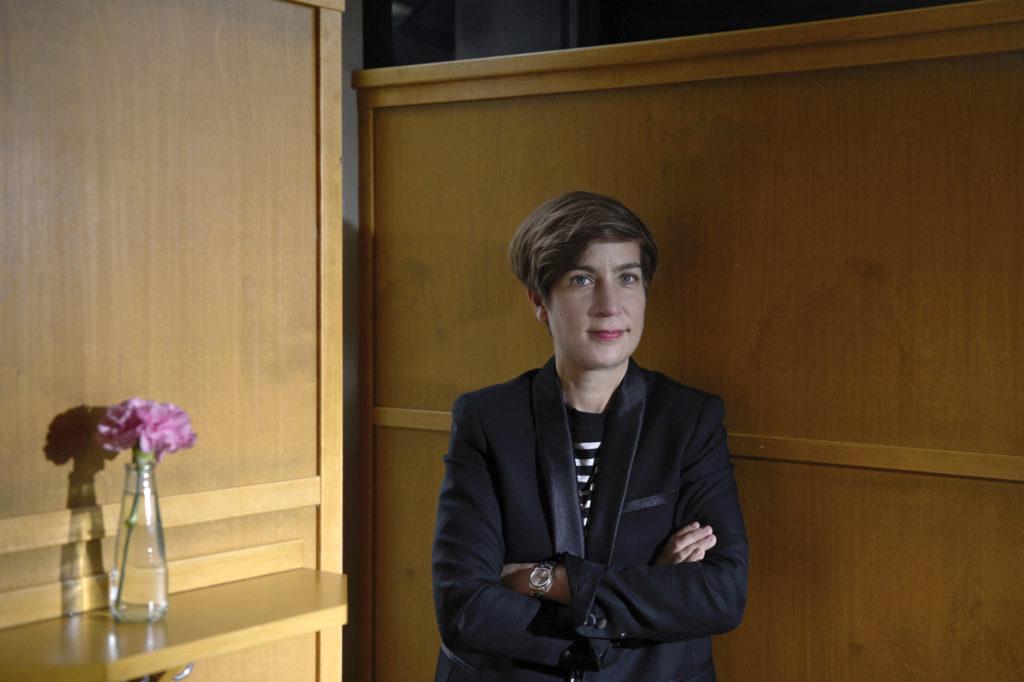 Gesa Schneider ist die Leiterin des Literaturhauses Zürich. Sie erinnert sich noch, was der Monty-Python-Komiker als Grund angab, weshalb er eine Zusatzvorstellung in Zürich gab. (Foto: Doris Fanconi)