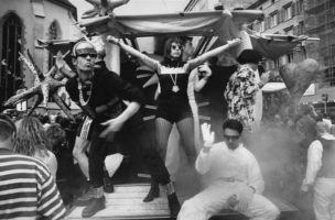 Als die Street Parade noch nicht Massenfasnacht war: 1992 (Bild: Tom Kawarra)