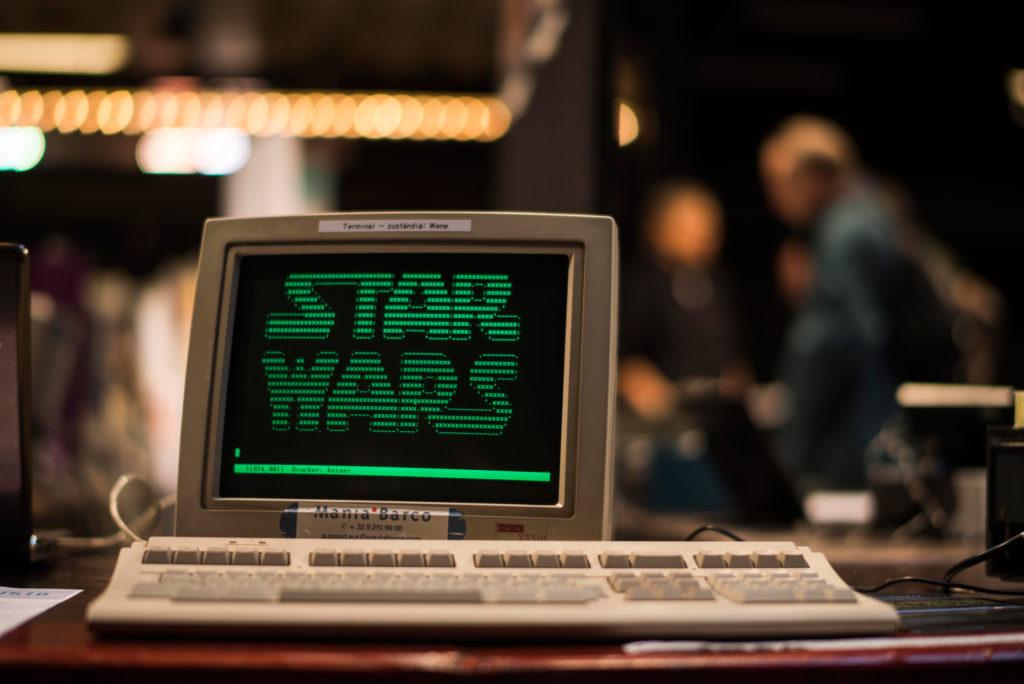 Vintage-Computer-Festival in der Roten Fabrik . 19.11.2016 (Tages-Anzeiger/Urs Jaudas)
