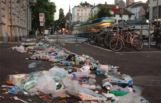 So sähe es immer aus in Zürichs Strassen.