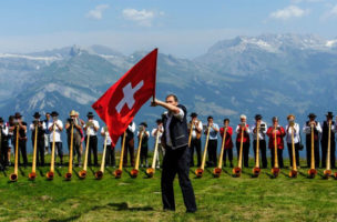 Die Schweiz ist eine grosse Idee, kein Museum mit hohem Gartenhag.