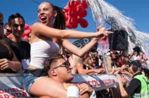 Dieses Jahr ist der Zürcher Club Klaus mit einem Love Mobile an der Parade vertreten.