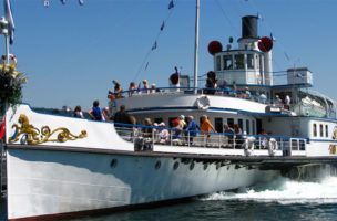 Im Fadenkreuz der Sparkanonen: Zürichseeschiff