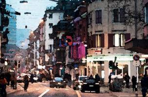 Identität aus romantisch verklärter Wohnadresse: Langstrasse.