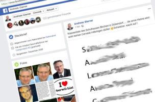 Missbraucht Kinder für seine politischen Gelüste: Andreas Glarner