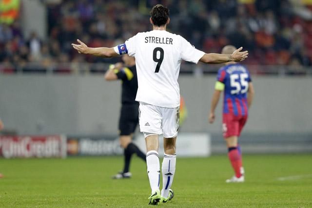 GRUPPENSPIEL, HINSPIEL, FCB, FC BASEL, STEAUA BUKAREST, CL, CHAMPIONS LEAGUE, UEFA CHAMPIONS LEAGUE, SAISON 2013/14,