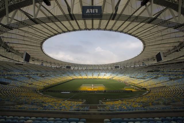 Das Maracana-Stadion in Rio de Janeiro. (Keystone)