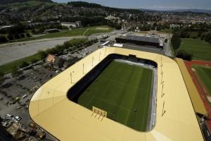 NEUES STADION, SWISSPOR, SWISSPORARENA, FUSSBALLSTADION, NEUBAU, BAUARBEITEN, BAU, FC LUZERN,