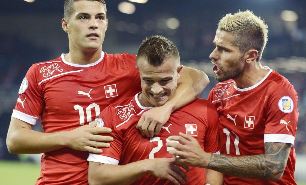 Albanien Schweiz Aufstellung
