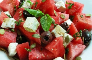 cooking-weekendswatermelon-salad
