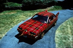 plaid-car