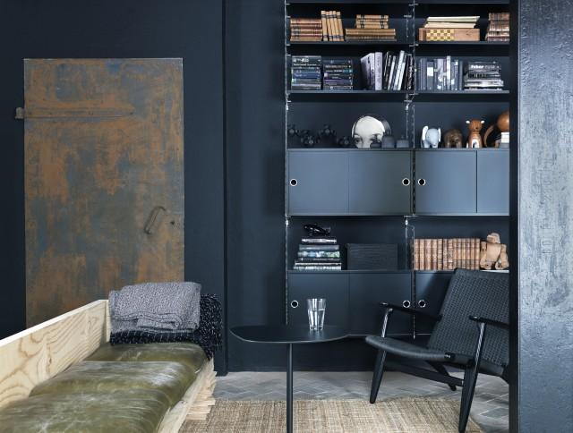 Sweet home sieht schwarz sweet home - Wand schwarz streichen ...