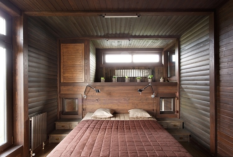 Ein patchworkhaus aus holz sweet home for Holzcontainer wohnen
