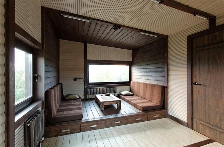 ein patchworkhaus aus holz sweet home. Black Bedroom Furniture Sets. Home Design Ideas