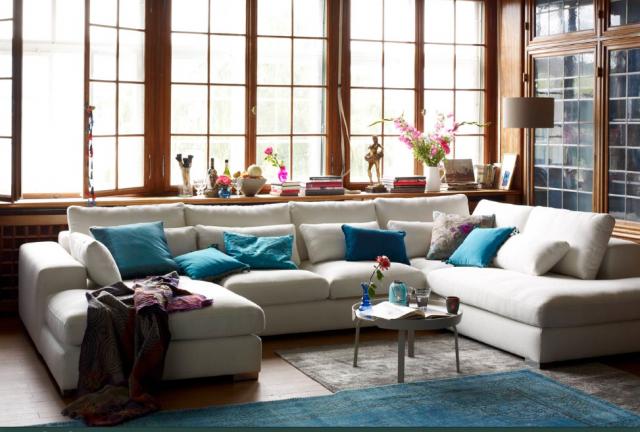 Der beste Platz im Haus  Sweet Home -> Ecksofa Pfister