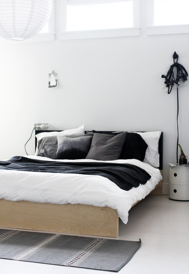 Tipps sweet home - Slaapkamer zwart en wit ...