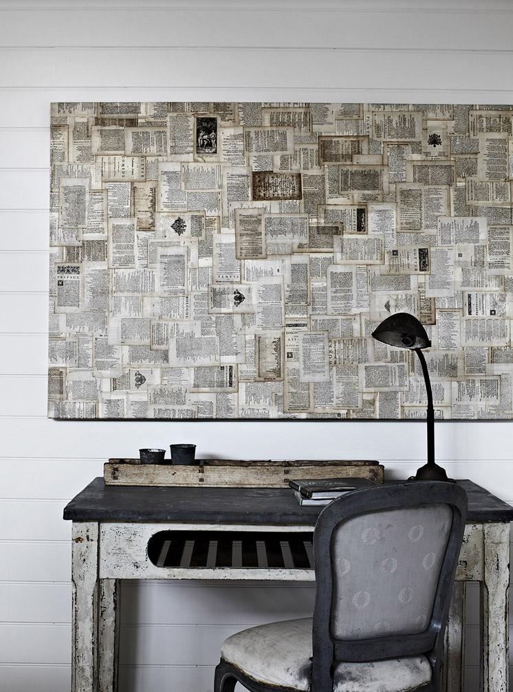 Wohnen mit wandzeitungen sweet home for Ch homes