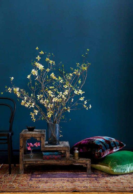 Mitternachtsblau Zauberhafte Wohnfarbe Sweet Home