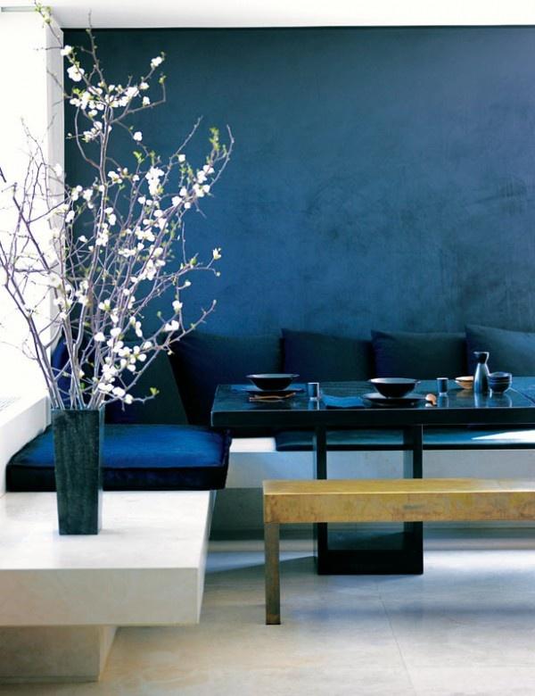 mitternachtsblau zauberhafte wohnfarbe sweet home. Black Bedroom Furniture Sets. Home Design Ideas