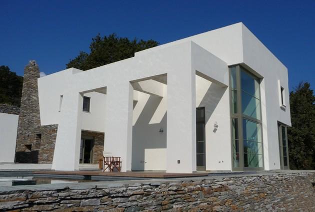 Ein griechisches m rchen sweet home for Moderner baustil