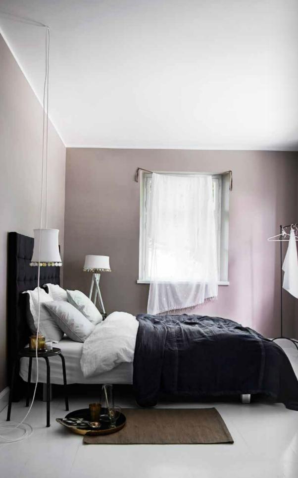 Hell Dunkel Kontraste Passen Perfekt Ins Schlafzimmer Und Sorgen Für Mehr  Ruhe Und Stil Als Kunterbunte Farben Und Wilde Muster.