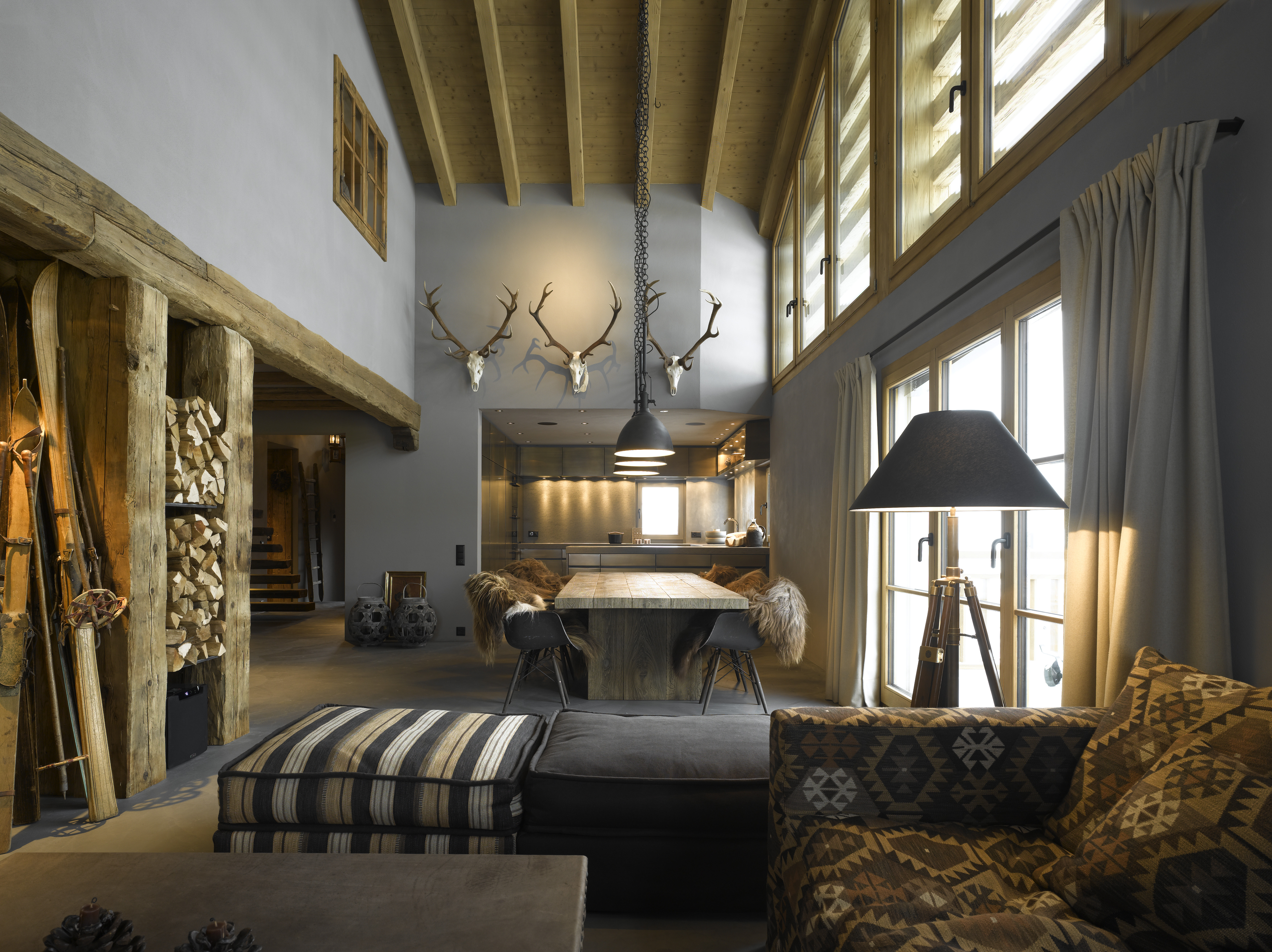 Bergromantik heute sweet home for Dekoration hirschgeweih