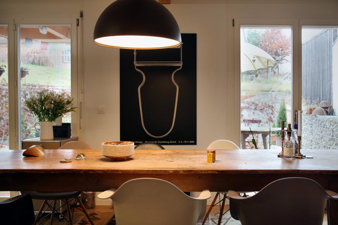 So sinnlich wohnen die Schweizer  Sweet Home ~ Esstisch Tobias