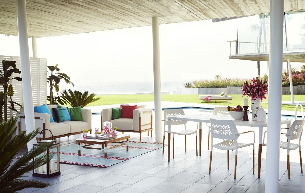 bereit für die neuen gartenmöbel | sweet home, Terrassen ideen