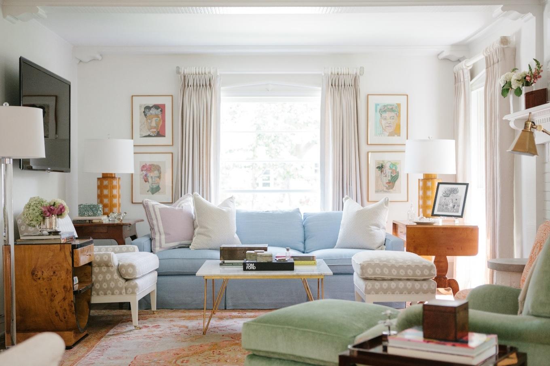 Der preppylook zieht ein sweet home for Wohnzimmer 1960