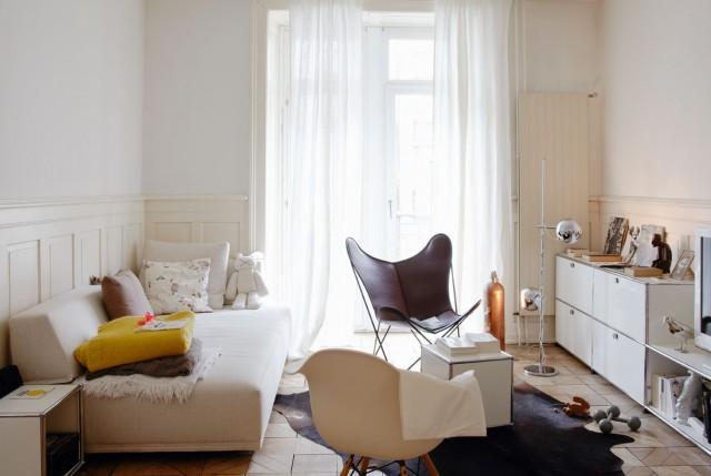 Einrichtungsideen Wohnzimmer Altbau Digrit For