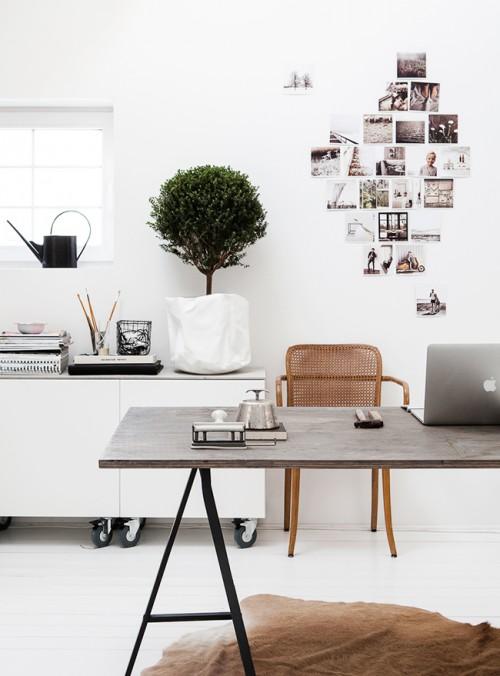 ein arbeitszimmer zu hause sweet home. Black Bedroom Furniture Sets. Home Design Ideas
