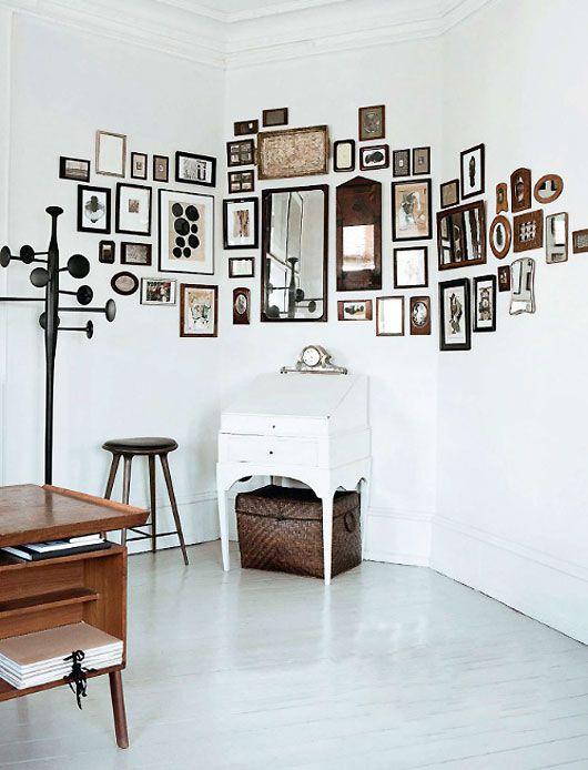 Sch ne ideen f r bilderw nde sweet home for Decoracion con muchos cuadros
