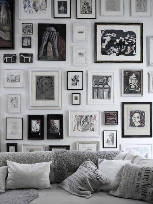 sch ne ideen f r bilderw nde sweet home. Black Bedroom Furniture Sets. Home Design Ideas