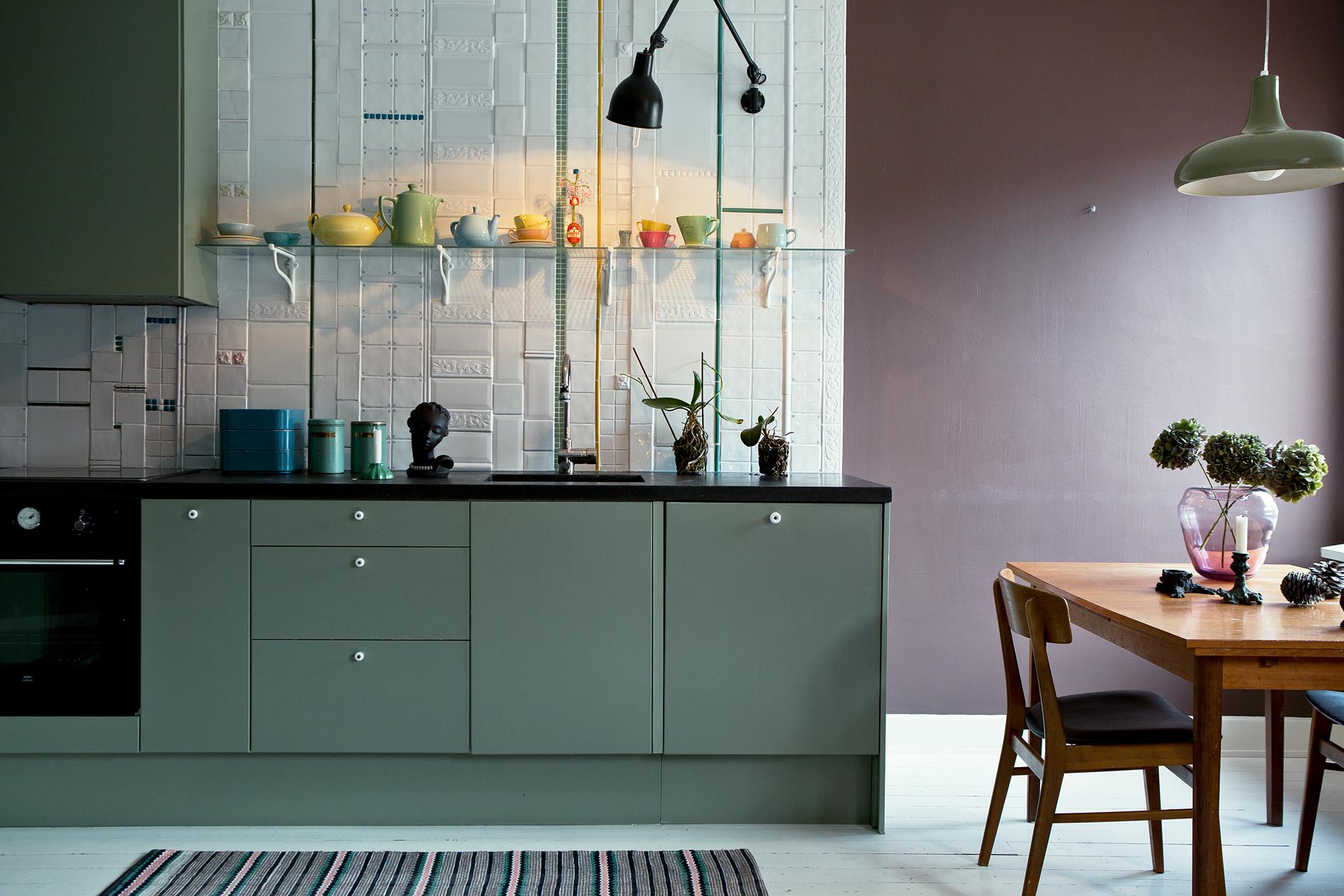 Wohnungsinserat aus stockholm sweet home - Wandfarbe ikea ...
