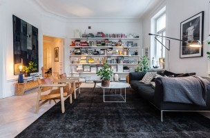 so wohnen k nstler. Black Bedroom Furniture Sets. Home Design Ideas