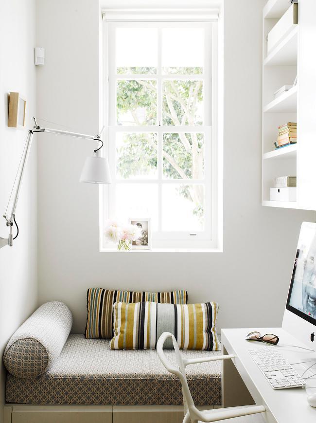Wohnen mit wenig platz sweet home for Schmaler arbeitstisch